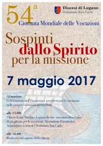 Scarica, cliccando qui, la locandina della Giornata Mondiale delle Vocazioni per la Diocesi di Lugano.
